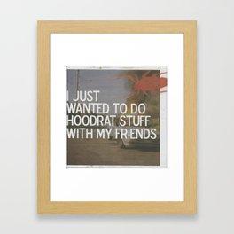 hoodrat.stuff Framed Art Print