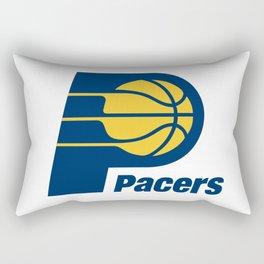 Indiana Pacer Logo Rectangular Pillow