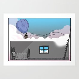 Balloon Dreams Art Print