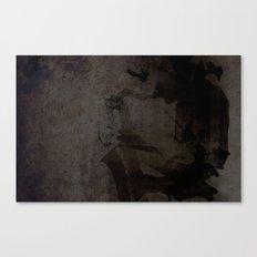 Jazzman laptop Canvas Print
