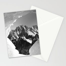 French Alps, Chamonix, France. (1) Stationery Cards