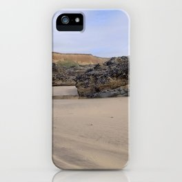 Godrecy Beach Cornwall Engand iPhone Case