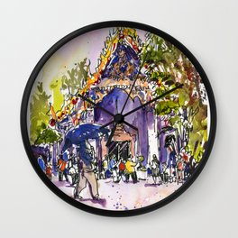 20160402 Wat Pho Wall Clock