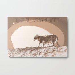 The shubby sheep Metal Print