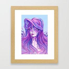 Pink Lagoon Framed Art Print
