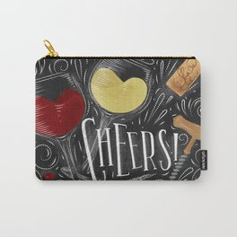 Cheers black Carry-All Pouch