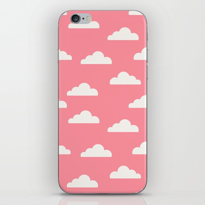 Clouds Pink iPhone Skin