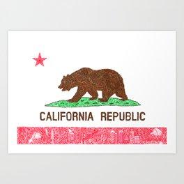 MADE IN CALIFORNIA Art Print
