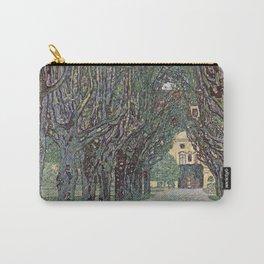 Gustav Klimt - Avenue Of Schloss Kammer Park Carry-All Pouch