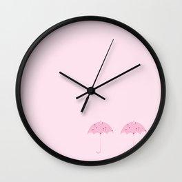 Umbrella Ice Cream Wall Clock
