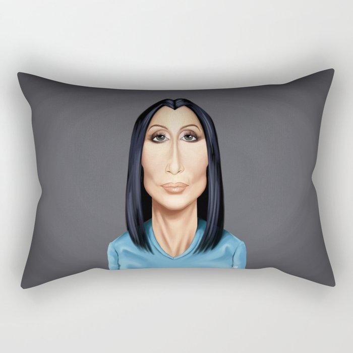 Celebrity Sunday ~ Cher(Cherilyn Sarkisian) Rectangular Pillow