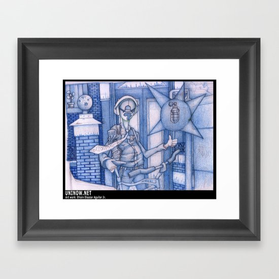 My Universe Framed Art Print