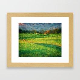 Division Landscape Framed Art Print