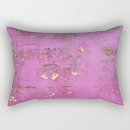 Purple Wall Rectangular Pillow