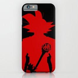 Kamehame - Red iPhone Case