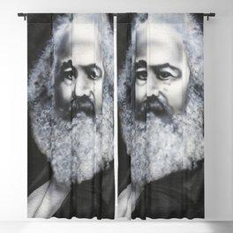 Marx: Glitter Beard Blackout Curtain