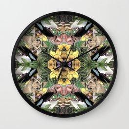 Wildlife Kaleidoscope Wall Clock