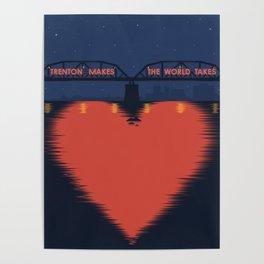 I Heart Trenton Poster