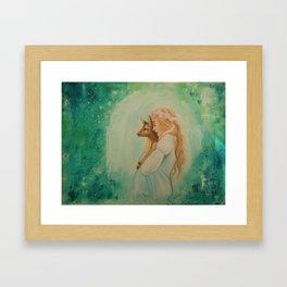 Sensitivity Framed Art Print