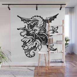 Wee Wyvern Wall Mural