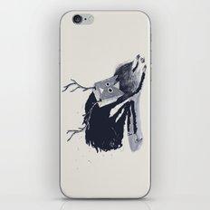 Le Shaman Vetu De Noir iPhone & iPod Skin