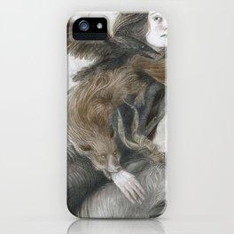 Demons iPhone Case
