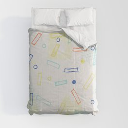 Snap Crackle Comforters