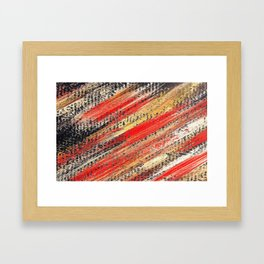 Multicolor ign eiss Framed Art Print