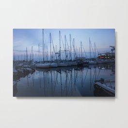 Harbour Town Metal Print