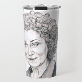 Margaret Atwood Travel Mug