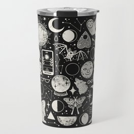 Lunar Pattern: Eclipse Travel Mug