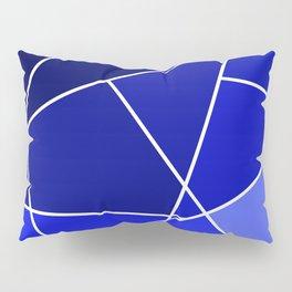 Blue Line Pattern Pillow Sham