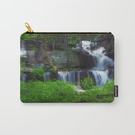 Rocky Forest Waterfall Carry-All Pouch
