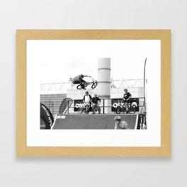 Seatgrab Framed Art Print