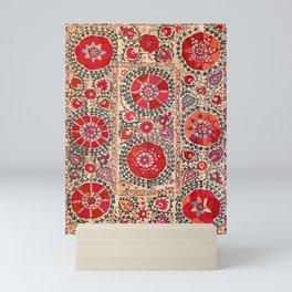 Samarkand Suzani Southwest Uzbekistan Embroidery Mini Art Print