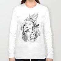 sailor Long Sleeve T-shirts featuring SAILOR by • PASXALY •