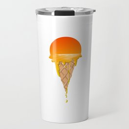 Famous Sunset Flavored Ice Cream Travel Mug