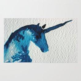 Blue Unicorn Rug