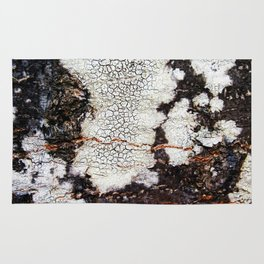 Tree bark naural pattern 2 Rug