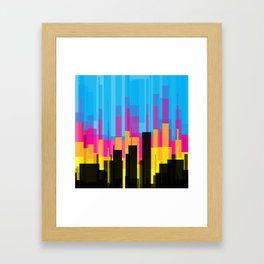 Skyline 10 Framed Art Print