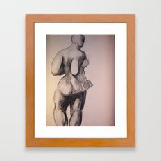 Degas Does Picaso Master Copy Framed Art Print