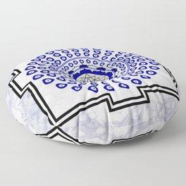 108 Evil Eye Sri Yantra Floor Pillow