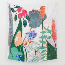 Speckled Garden Wall Tapestry