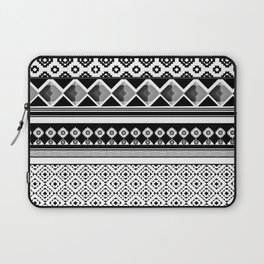 Modern Black 2 Laptop Sleeve