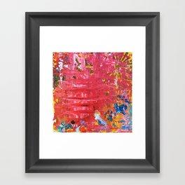 SCRAPE 11 Framed Art Print