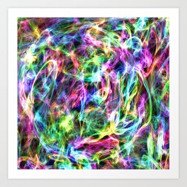 Trapped in Colour Art Print