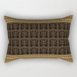 Maya pattern 6 Rectangular Pillow