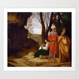 "Giorgione ""Three Philosophers"" Art Print"