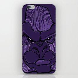 Gorilla - Ultra Violet Purple iPhone Skin