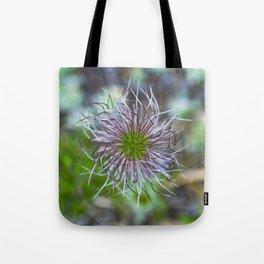 Prairie smoke wildflower Tote Bag